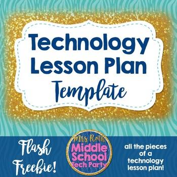 Technology Class Lesson Planner/Curriculum Template