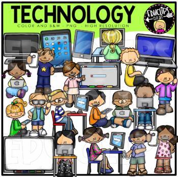 Technology Clip Art Bundle {Educlips Clipart}