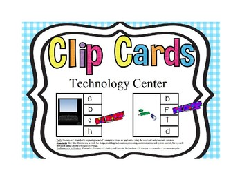 Technology Clip Cards