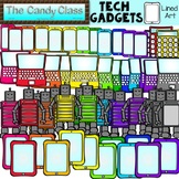 Technology Clipart with Tablets, Robots, Laptops, Cell Pho
