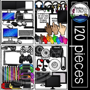 Technology Clipart MEGA Bundle