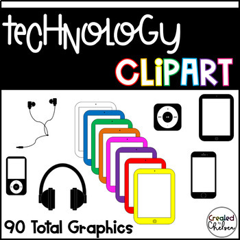 Technology Clipart {Graphics for Commercial Use}