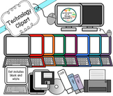 Technology Clipart Set: For personal and commercial use