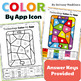 Technology Color By App Icons Printables