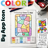 UNPLUGGED Technology Color By App Icons Printables