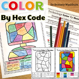Technology Color By Code Printables