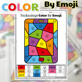 UNPLUGGED Technology Color By Emoji Printables