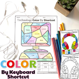 Technology Color By Keyboard Shortcut Printables