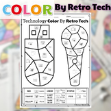 UNPLUGGED Technology Color By Retro Tech Printables