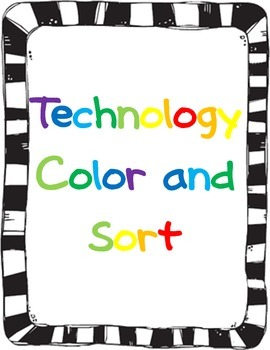 Technology Color and Sort