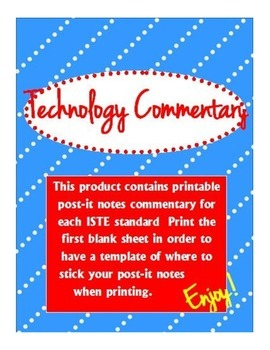 Technology Commentary