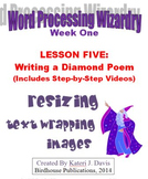 Technology & Computer Basics:  WP-Writing a Diamond Poem
