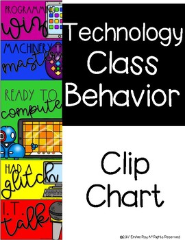 Technology/Computer Behavior Clip Chart