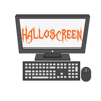 Technology Computer Halloween Decor