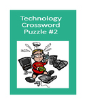 Technology Crossword Puzzle #2 (STEM Activity)