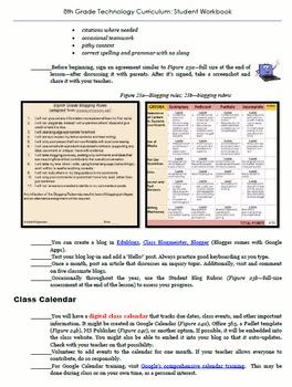 Technology Curriculum: Student Workbook--Grade 8
