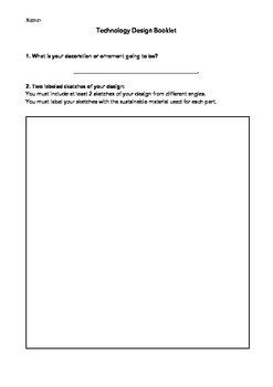Technology Design Booklet