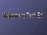 Technology Education Parent Presentation