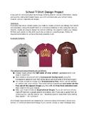 Technology Education T-Shirt Design / Transfer Press T shirt Assignment