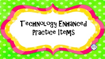 Technology Enhanced Item Practice: Grammar