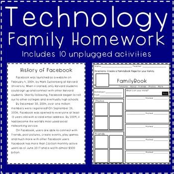 Technology Family Homework