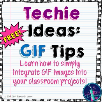 Technology Help: GIF Classroom Ideas {Freebie}
