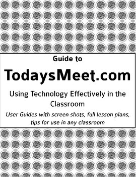 Technology Helpers: Learn and Use TodaysMeet.com