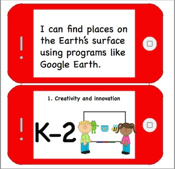Technology I Can Statements for K-5 Computer Lab