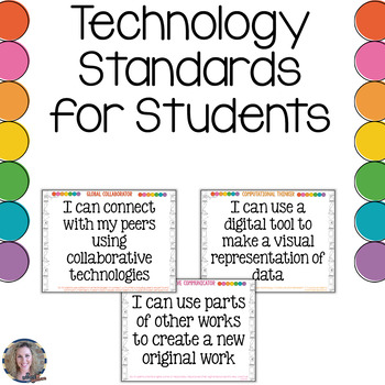 Technology I Can Statements K-6 Bundle