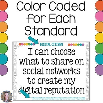 Technology I Can Statements for Grades 6-8