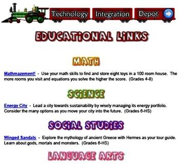 Technology Integration Depot Educational Links Week #003