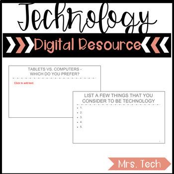 Technology Interactive - Digital Resource