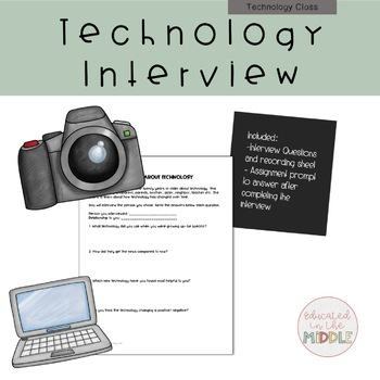 Technology Interview (Then and Now)