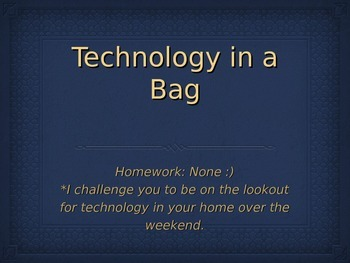 Technology Introduction Powerpoint