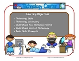Technology Learning Center Sign~ With Objectives