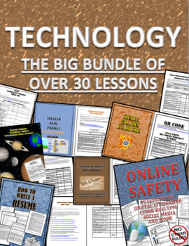 Technology Lessons Bundle: Coding, Animation, Microsoft Office Lessons, & More!