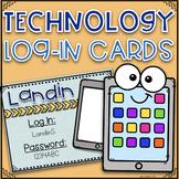 Log In Cards~ EDITABLE!