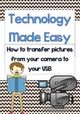 Technology Made Easy (TME) Transfering Pictures from Camera to USB