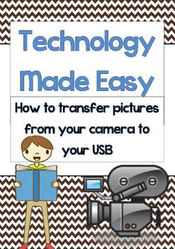 Technology Made Easy (TME) Transfering Pictures from Camer