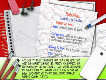 Technology & Math POWERPOINT  (Picture Book)