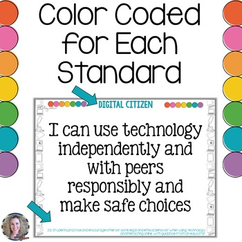 Technology I Can Statements for Grades 3-5