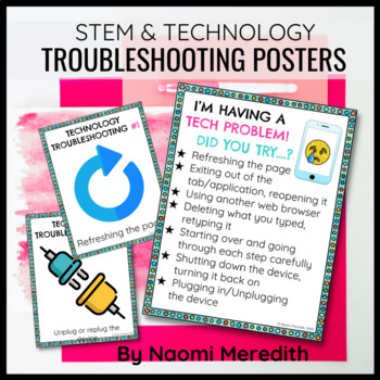 Technology Problem Solving Anchor Charts