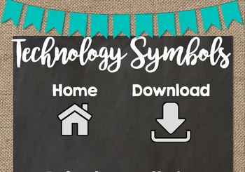 Technology Procedure Anchor Charts *Chalkboard Chic*