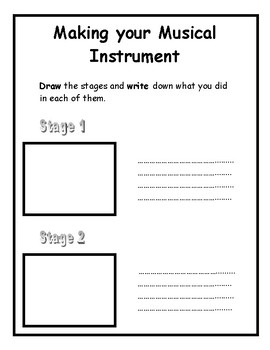 Technology Project: Design and Make a Percussion Instrument