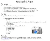 Technology Project - Designing a Controlled Experiment