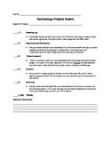 Technology Project Rubric