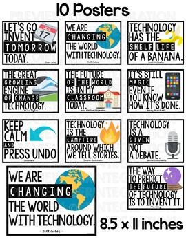 Technology Quote Posters