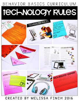 Technology Rules- Behavior Basics Program for Special Education