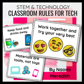 Classroom Rules for Technology | Rules for Technology in the Classroom