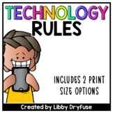 Technology Rules - Includes 2 Printing Sizes!